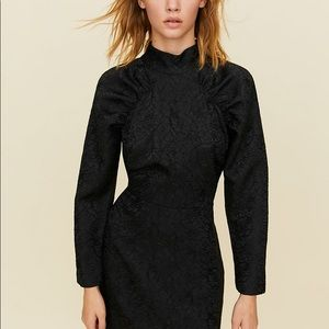 NWT Aritzia Little Moon Sangria Black Dress